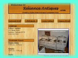 Click here to see the Reliance Antiques Website!